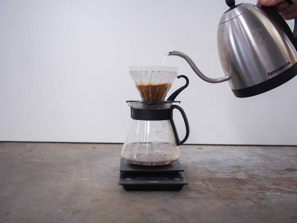 How to brew Hario V60 - Sample Coffee Roasters