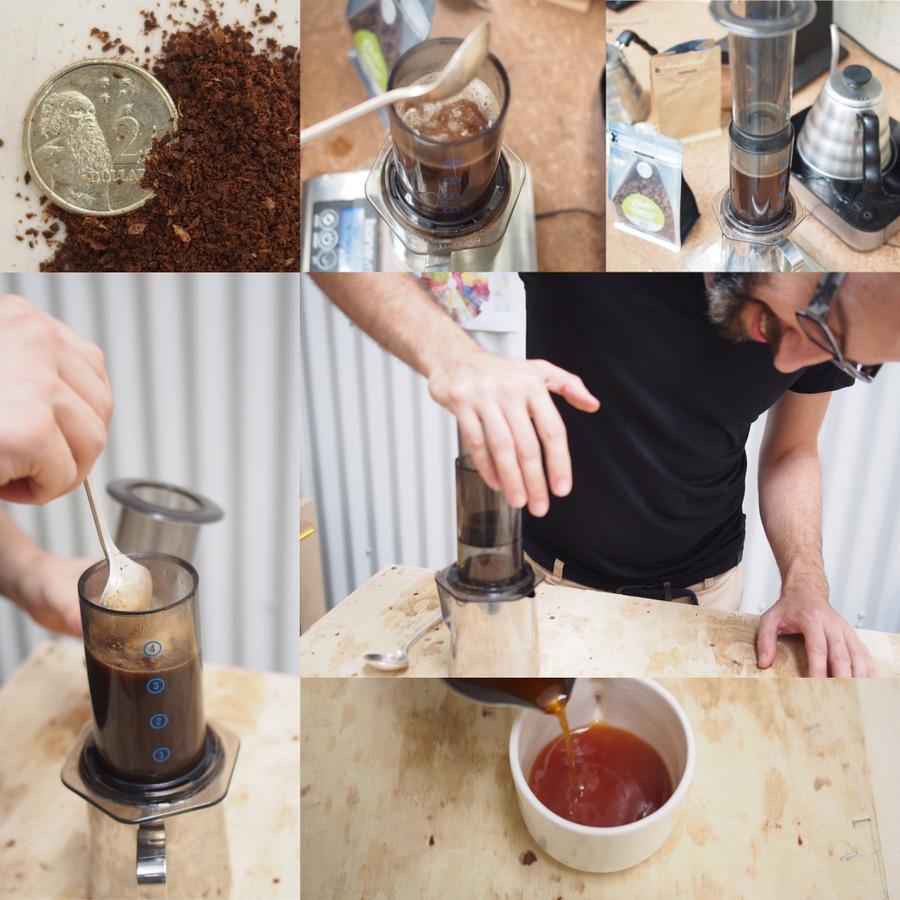 Image of Simon's Aeropress brew