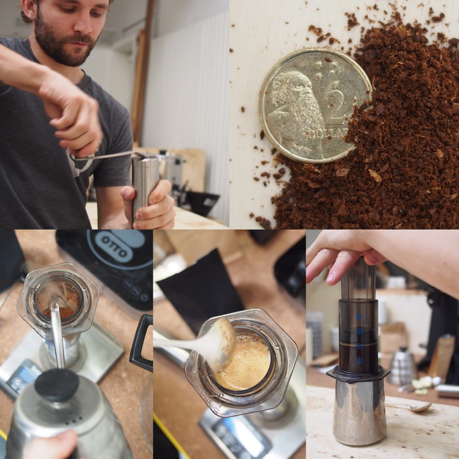 Image of John's Aeropress brew