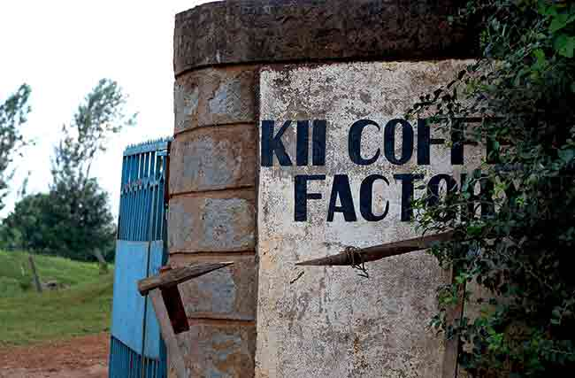Sign at Kii Wetmill