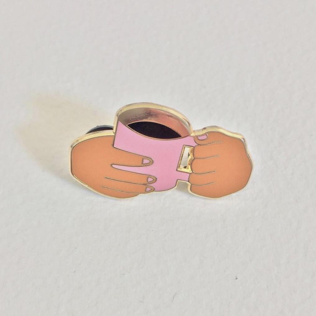 Photo of Coffee Pin by Kim Siew