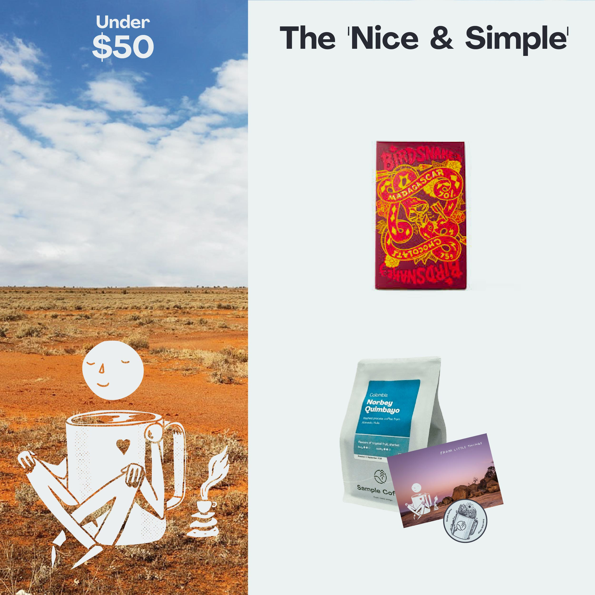 Photo of The 'Nice & Simple' Gift Pack
