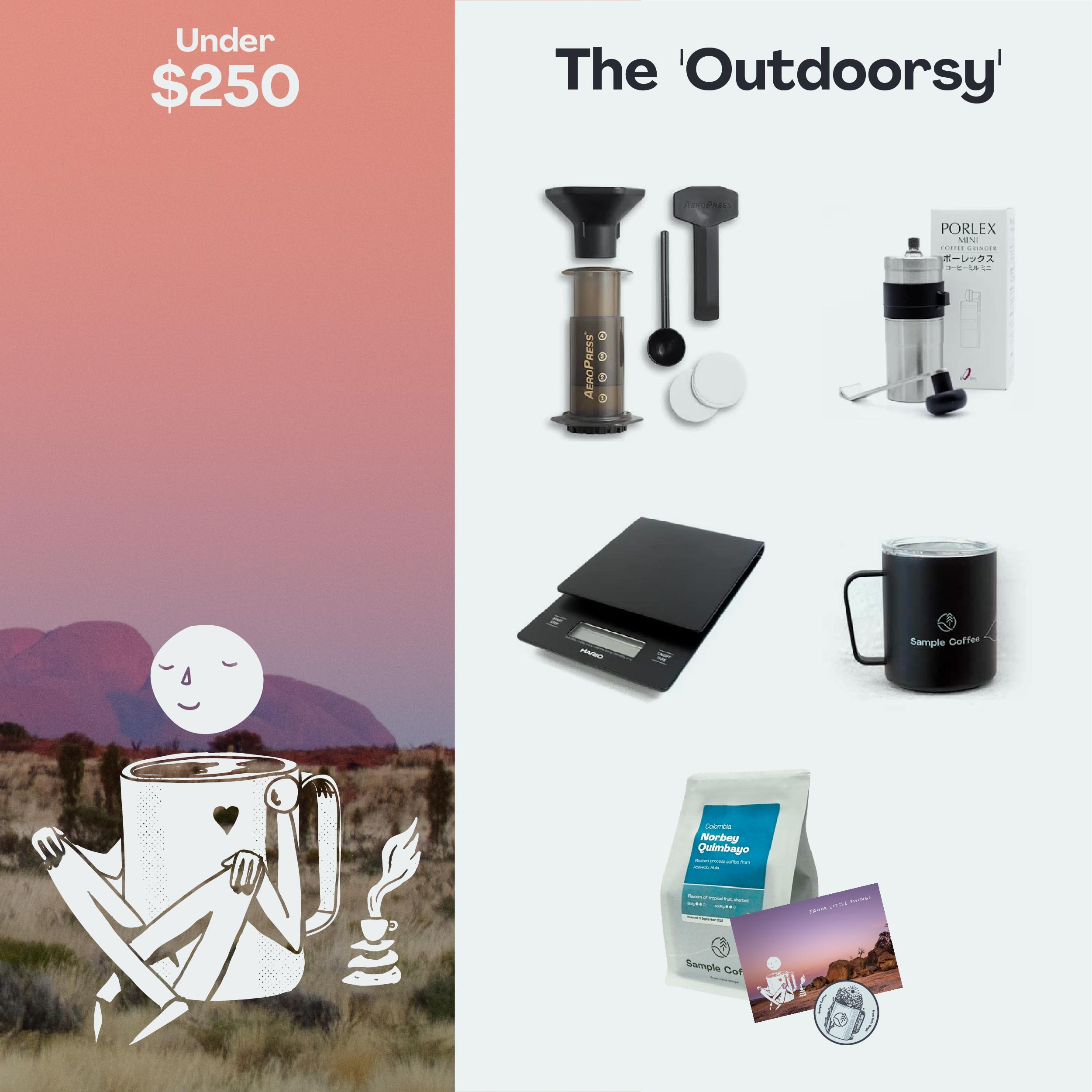 Photo of The 'Outdoorsy' Gift pack
