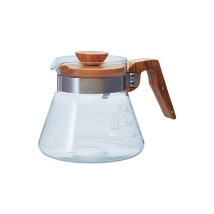Photo of Hario V60 olive wood range server