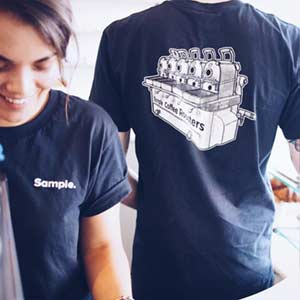 Photo of Sample roaster t-shirt