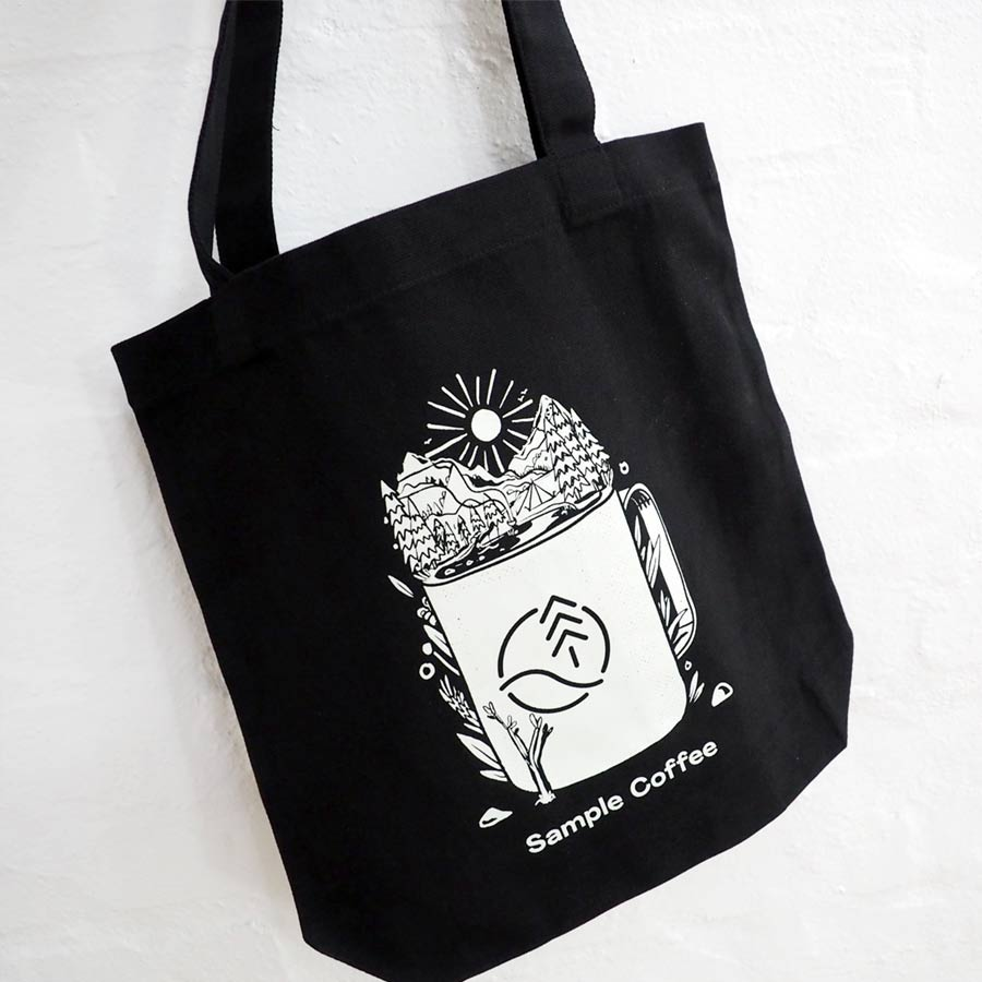 Photo of Sample Coffee tote bag