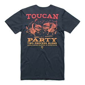 Photo of Toucan Party Blend tee: Navy